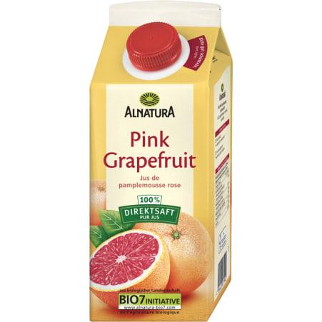 Alnatura Bio Pink Grapefruit Direktsaft 0,75 Liter
