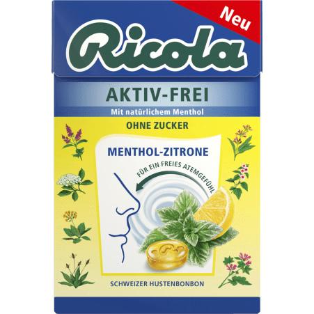Ricola Aktiv-Frei Zitrone zuckerfrei Box