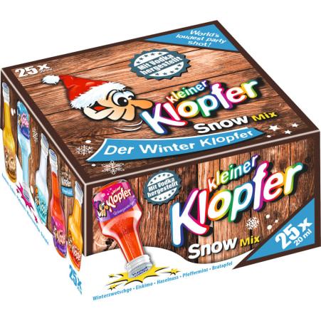 Kleiner Klopfer Winter Mix 17% 25x 0,02 Liter