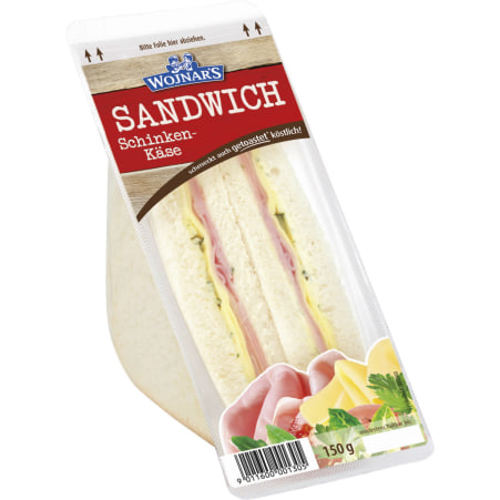 Wojnar`s Sandwich Schinken/Käse