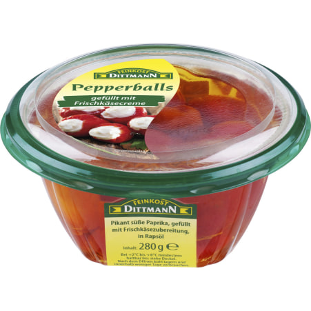 Feinkost Dittmann Pepperballs gefüllt mit Frischkäse