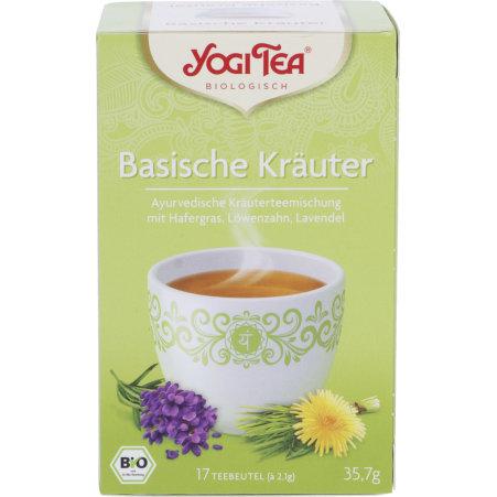 YOGI TEA Bio Basische Kräuter