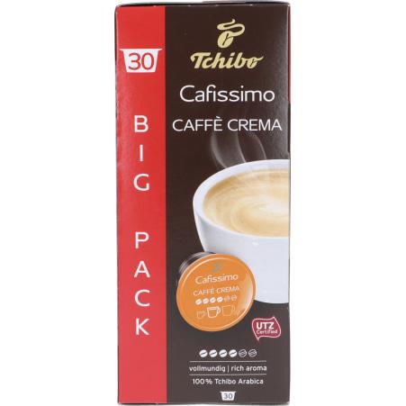 TCHIBO Cafissimo Caffé Crema vollmundig Vorratsbox 30 Kapseln