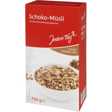 Jeden Tag Schoko Müsli