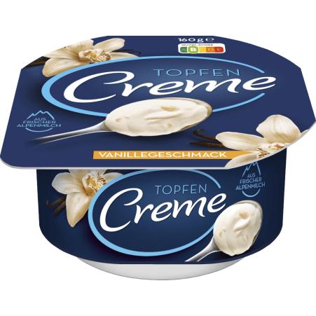 Danone Topfencreme Vanillegeschmack