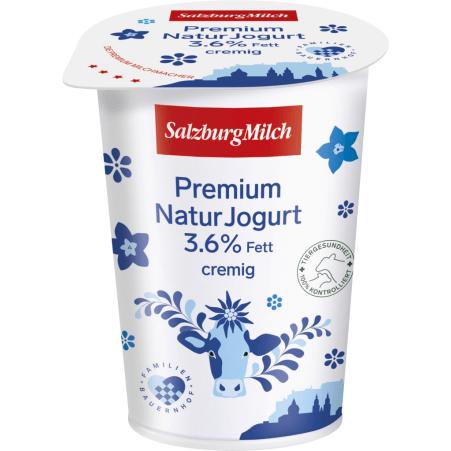SalzburgMilch Premium Naturjogurt 3,6% 500 gr