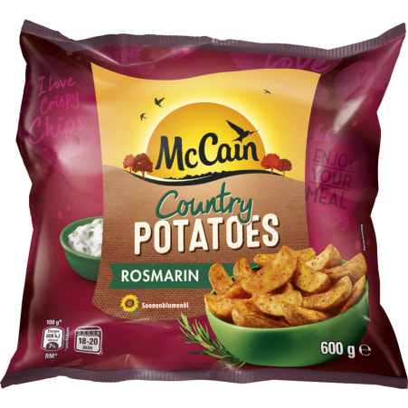 McCain Country Potatoe Rosmarin