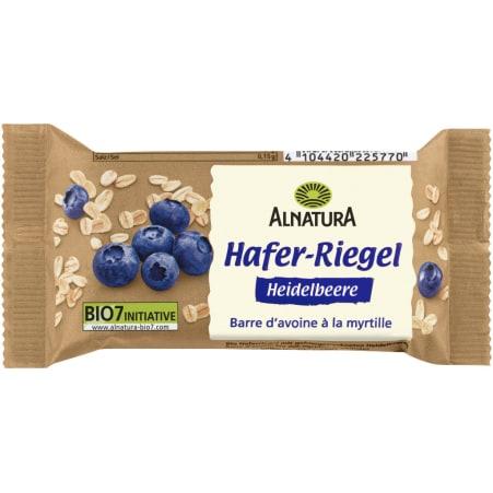 Alnatura Hafer Riegel Heidelbeere