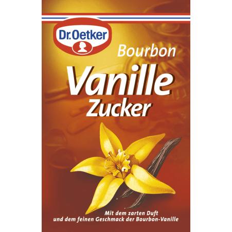 Dr. Oetker Bourbon Vanillezucker 3er-Packung