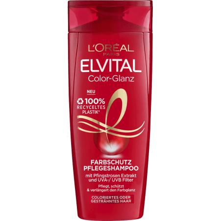 L'Oreal Paris Elvital Pflege-Shampoo Color-Glanz