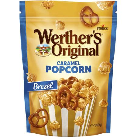 WO Popcorn Werther's Original Caramel Popcorn  Brezel