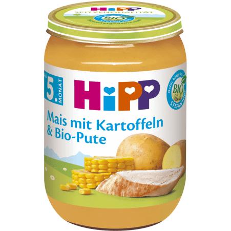 HiPP Bio Mais mit Kartoffeln & Pute 4. Monat