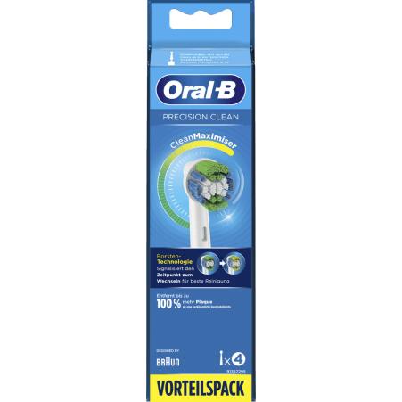 Oral-B Aufsteckbürsten Precision Clean 4er-Packung