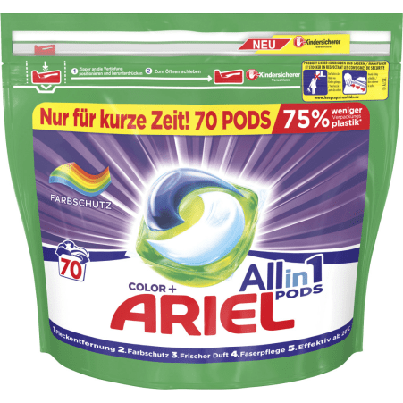 Ariel 3 in 1 Pods Regulär 80er-Packung
