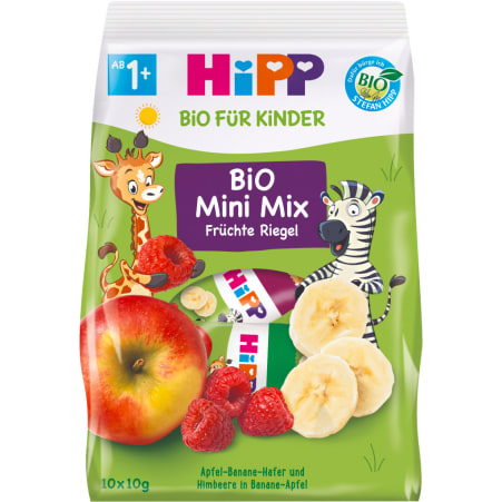 HiPP Bio Mini Mix Früchte Riegel