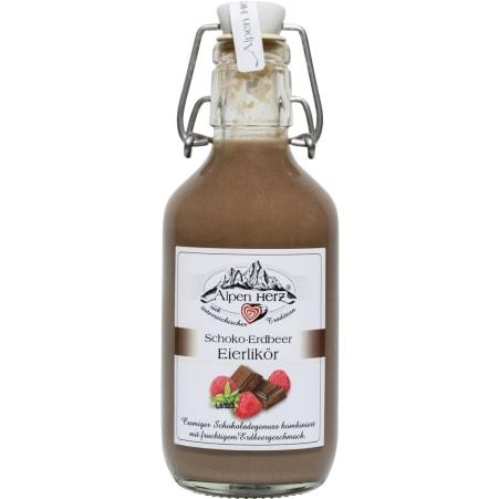 Alpenherz Schoko Erdbeer Likör 15%