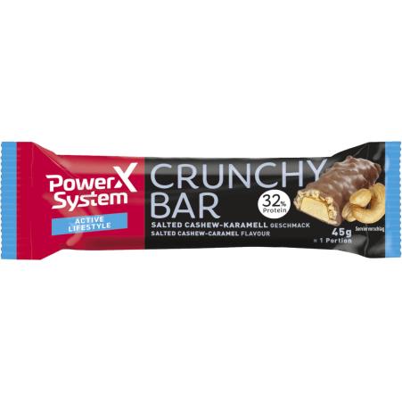 Power System Crunchy Bar Cashew-Karamell
