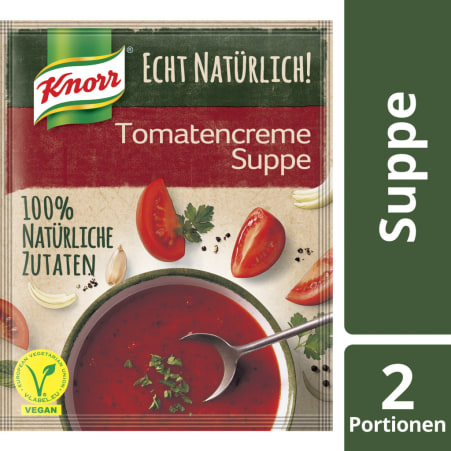 Knorr Echt Natürlich Tomatencremesuppe