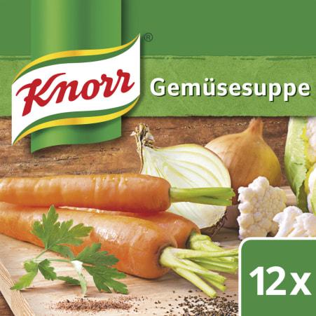 Knorr Gemüsesuppe Würfel