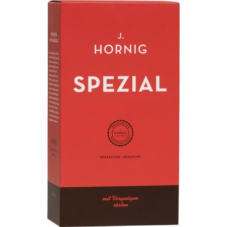 J. Hornig Spezial Röstkaffe gemahlen