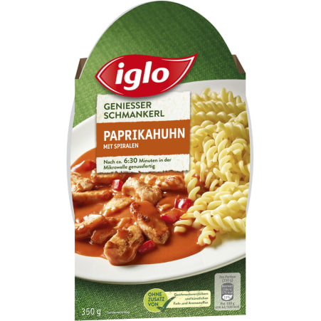 Iglo Schmankerl Paprikahuhn