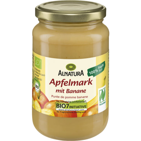Alnatura Apfelmark mit Banane