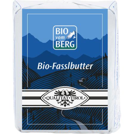 BIO vom BERG Bio Tiroler Fasslbutter