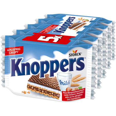 Knoppers Knoppers 5er-Packung