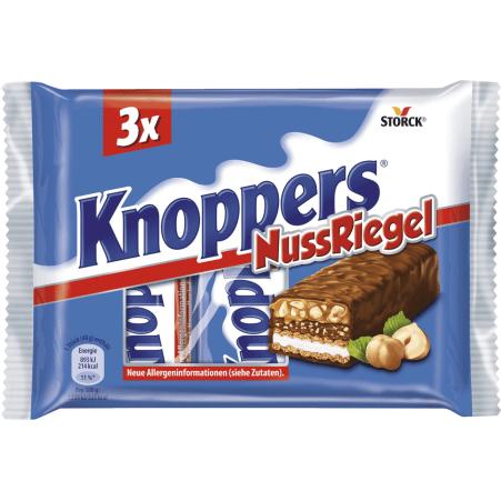 Storck Knoppers Nussriegel 3er-Packung