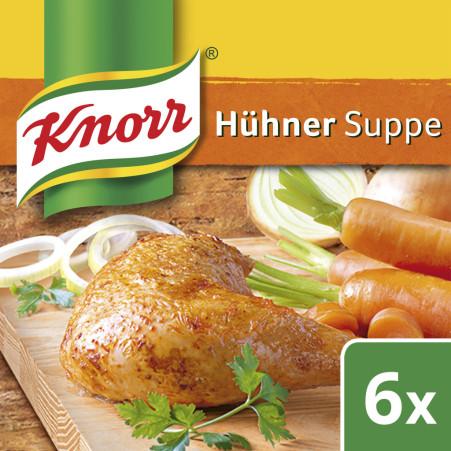 Knorr Hühnersuppe Würfel
