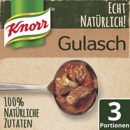Knorr Echt Natürlich Gulasch