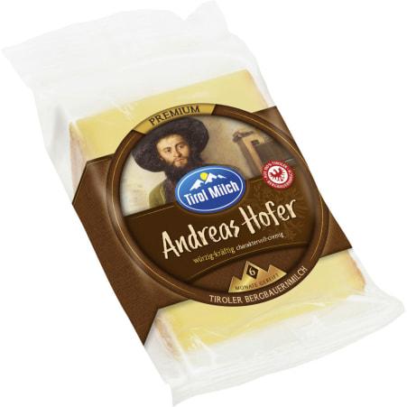 Tirol Milch Andreas Hofer Bergkäse 50%