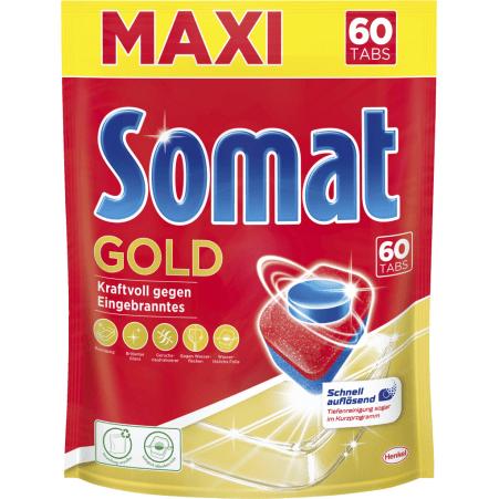 Somat Gold XXL Pack 12 Multi Aktiv 60 Geschirrspültabs