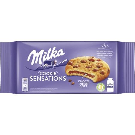 MILKA Cookies Sensation innen schokoladig