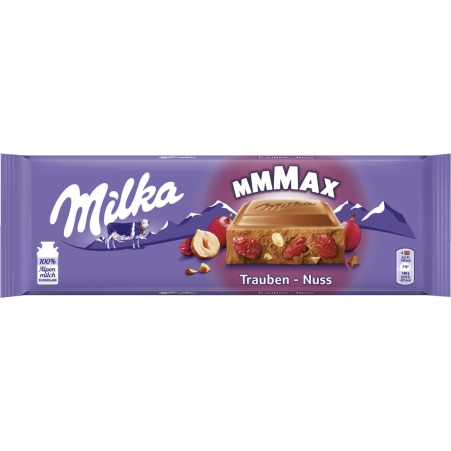 MILKA Schokolade Trauben-Nuss 270 gr
