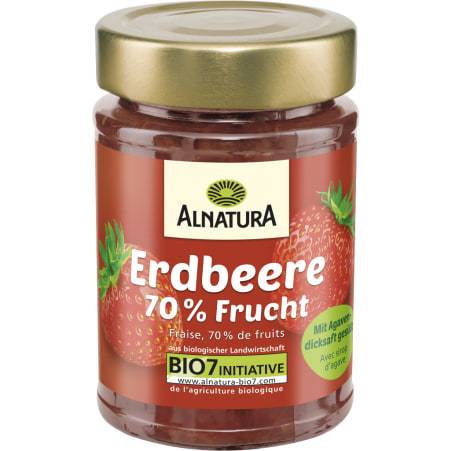 Alnatura Bio Fruchtaufstrich Erdbeere mit Agavendicksaft