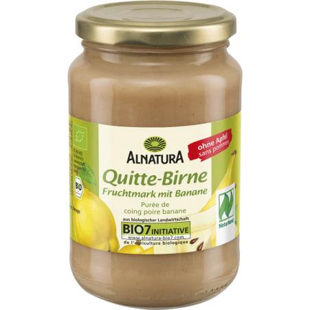 Alnatura Bio Quitte-Birne Fruchtmark mit Banane