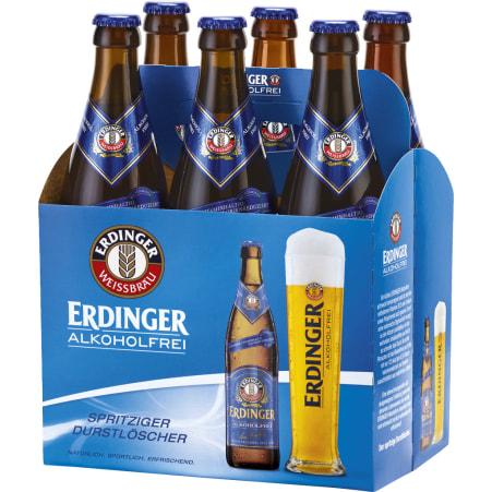 ERDINGER Weißbier alkoholfrei Tray 6x 0,5 Liter