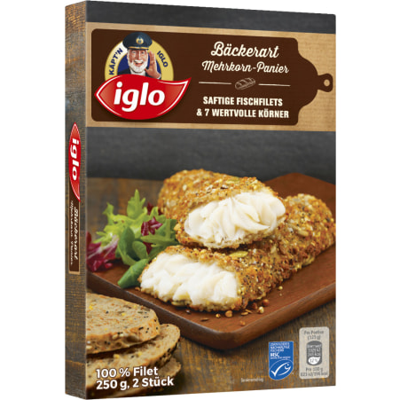 Iglo Bäckerart Mehrkorn Panier MSC