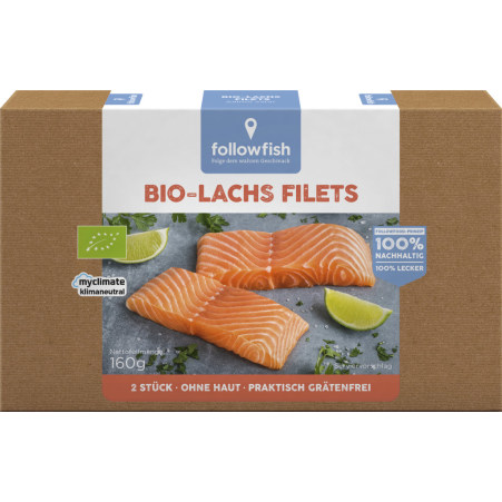 followfish Bio Lachs Filets