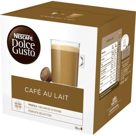 NESCAFE Dolce Gusto Cafe au Lait 16 Kapseln