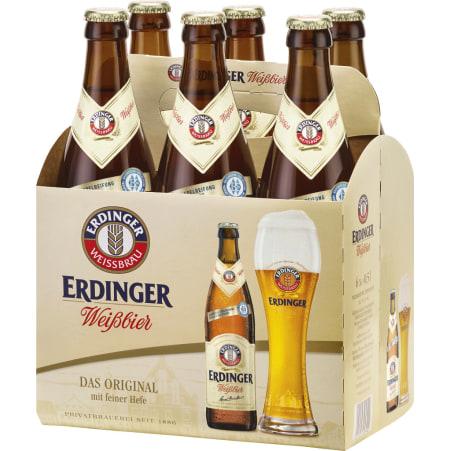 ERDINGER Weißbier Feine Hefe Tray 6x 0,5 Liter