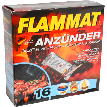 Flammat Anzündwürfel 16er-Packung