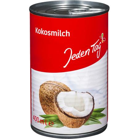 Jeden Tag Kokosmilch