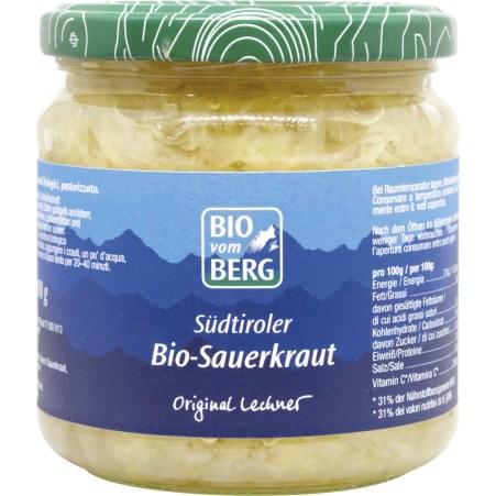 BIO vom BERG Bio Südtiroler Sauerkraut