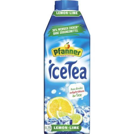 Pfanner Eistee Lemon -30% Zucker