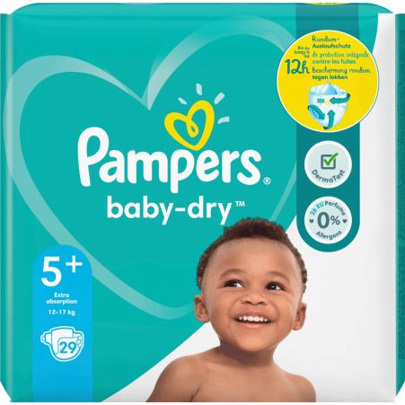 Pampers Baby Dry Junior Größe 5+
