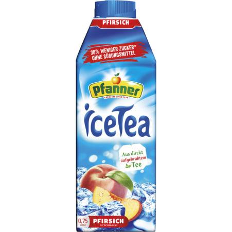 Pfanner Eistee Pfirsich -30% Zucker