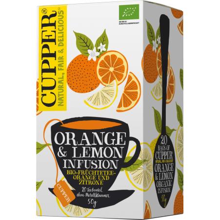 Cupper Orange & Lemon Infusion