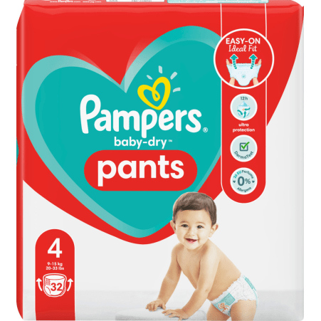 Pampers baby-dry Pants Gr. 4